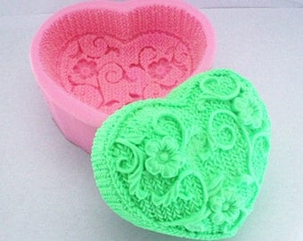 3D silicone soap molds fondant cake chocolate molds for the kitchen cake decorating Sugarcraft
