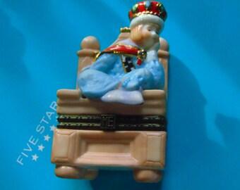 Bored Little Prince trinket box by Enesco