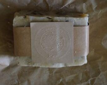 Handmade Soap Coconut - 7 oz. (Rosemary/Quing-Hao)