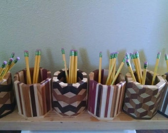 Pencil holder or dice cup