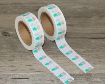 Washi tape pineapple 1 roll