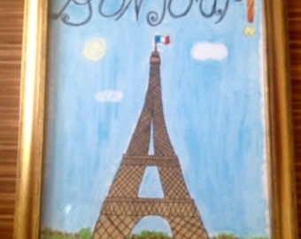 French Art -Bonjour Poster