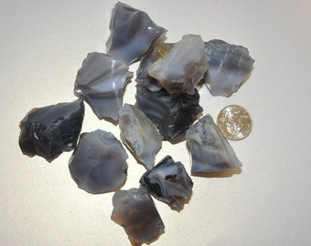 Gray Agate Rough