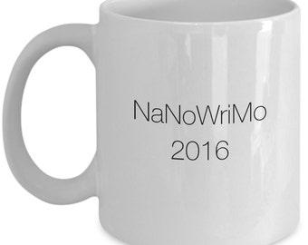NaNoWriMo Mug 2016 Gift Mug for Writers