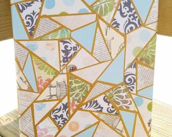 Paper Mosaic Canvas Art