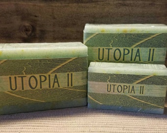 UTOPIA II Fresh, Clean, Spa scented goat milk bar soap. Summer Sale add 25% coupon at checkout