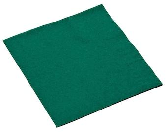 50-100 Dark Green Beverage Disposable Napkin, Wedding Napkins, Beverage Napkins, Wedding, Party, Wedding Supplies, Party Supplies
