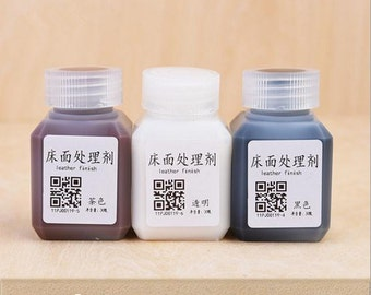 Leather Wound Finishing Agent Leather DIY Leather Wound Renovate Agent Leather Finish Leather Oil