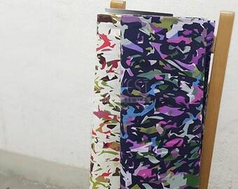 Kokka Cotton sunset koto thouin japanese fabric - 50cm