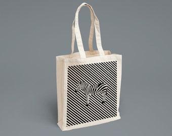 Tote-Bag Zebra
