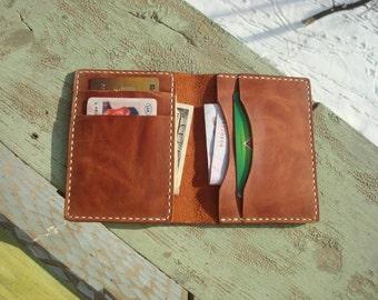 Minimalist wallet, slim bifold wallet, slim leather wallet, bifold wallet, minimalist bifold wallet, leather bifold wallet