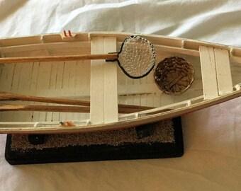 In the Boatyard: a Chesapeake Bay Crabbing Skiff