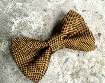 YUMI bow tie-Brown | Brown
