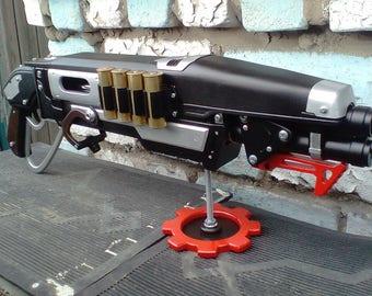 Gnasher shotgun from Gears of War 4