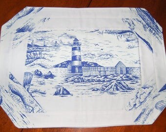 Beach Scene Placemat Set of 4