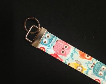 Fabric Short Key Lanyard
