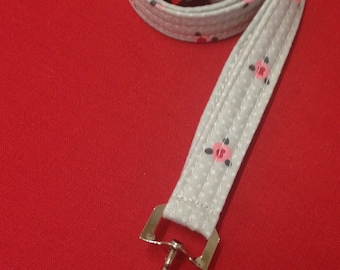Fabric Breakaway Lanyard, ID badge, Whistle