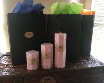 Candle Pillar Triple Pack