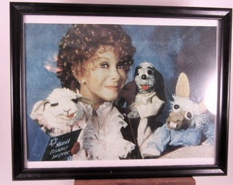Shari Lewis with Lamb Chop, Hush Puppy, Charlie Horse Picture