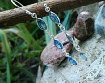 Tanzanite, exceptional stone earrings