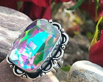 Beautiful Mystic Topaz, heals the wounds of the soul