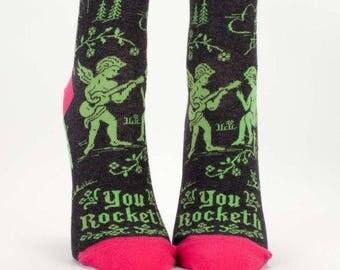 You Rocketh' Women's Socks