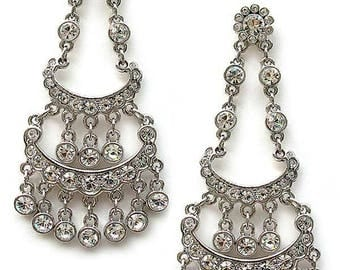 Edie Sedgwick Poor Little Rich Girl Inspired Earrings