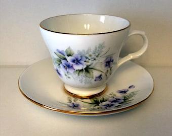 Royal Victorian Tea Cup and Saucer
