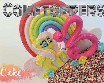 My little pony cake topper kit