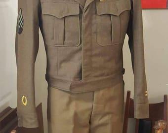 WWII Army Uniform
