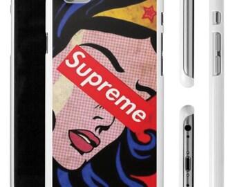 Wonder Woman Supreme iPhone Case