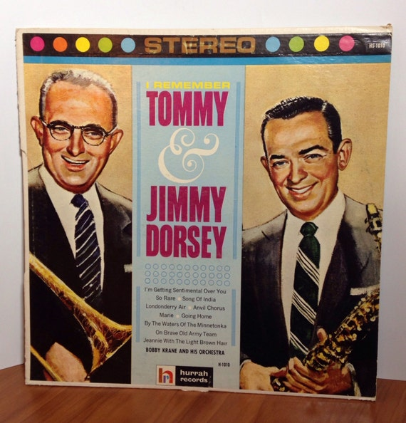 I Remember Tommy & Jimmy Dorsey - Bobby Krane and his Orchestra Vinyl Record H-1010