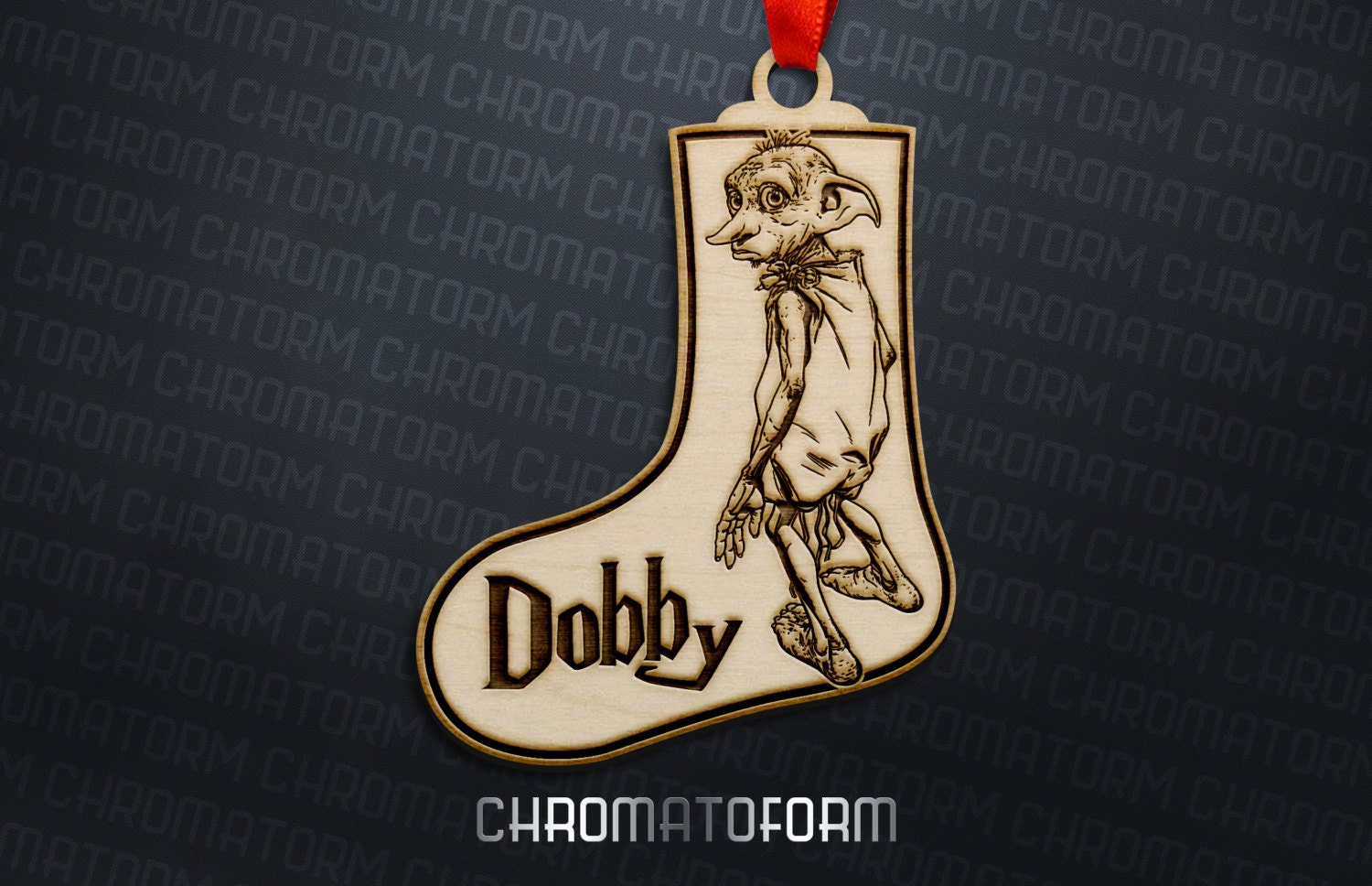 Harry Potter Dobby the House Elf Ornament/Stocking Tag
