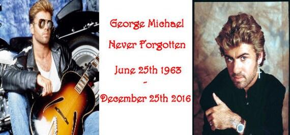 George Michael Never Forgeten Mug singer music