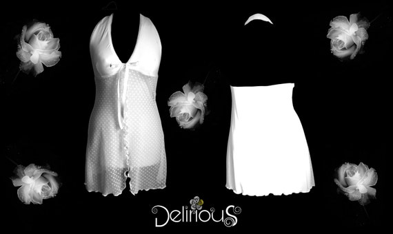 Babydoll, Babydoll Glamour and Sexy FishNet plumetis