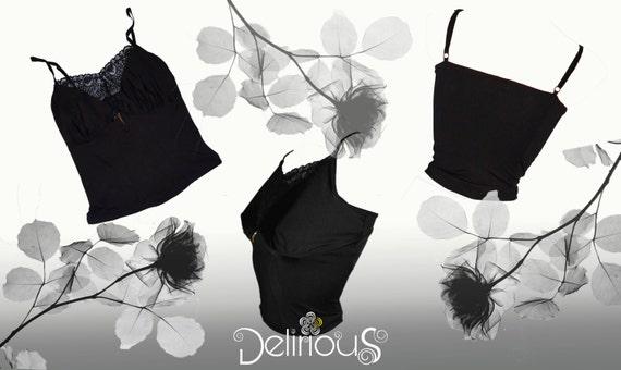 Camisole/top black sweet delirium
