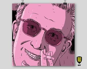 Peter Sellers, Dr. Strangelove Digital Art by Alexander Fechner