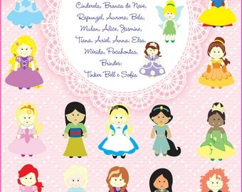 PDF Pattern Felt Princess As Feltreiras