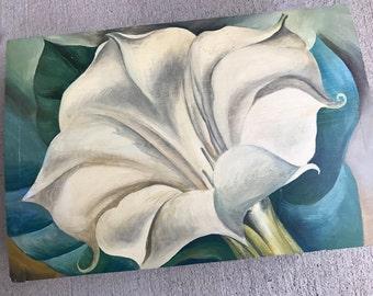 handpanted lily box