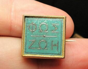 RARE Antique Italian 18k Gold CASTELLANI Micro Mosaic Brooch Jewelry c1860