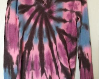 Tie dye long sleeve shirt