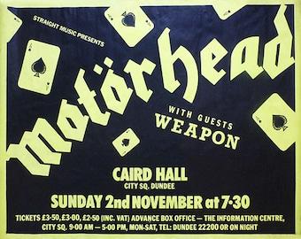 Motorhead, Motorhead Concert Poster, Motorhead Art, Motorhead Poster, Motorhead Print, 8x10, 11x14, 16x20 (JS00790)