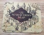 The Marauder's Map Non-Slip Mouse Pad