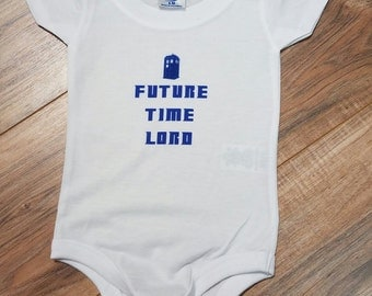 Future Time Lord Onesie