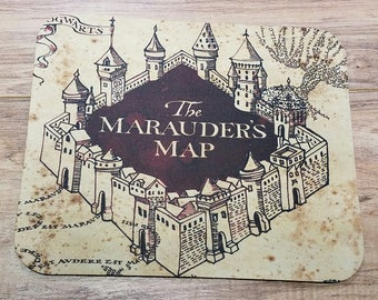 The Marauder's Map Non-Slip Mouse Pad