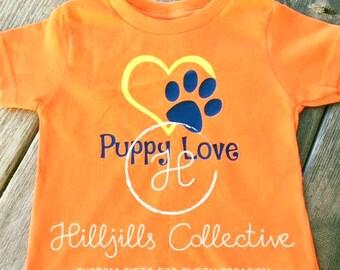 Youth Puppy Love Custom T-shirt