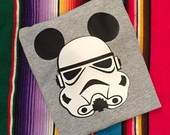 Star Wars -Custom Storm Trooper  shirt - Star Wars Shirt- Disney Shirt- Add a name for FREE