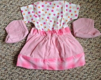 Baby Dress and Booties