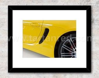 Porsche Boxster GTS, 981, 2014, Photo / Print,  Wall Art