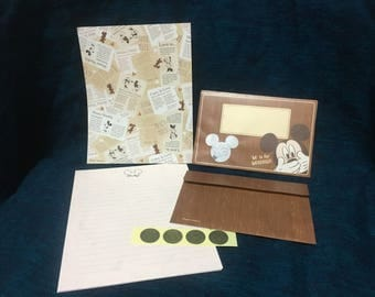 Disney Mickey Mouse Stationery Set with Window Envelopes